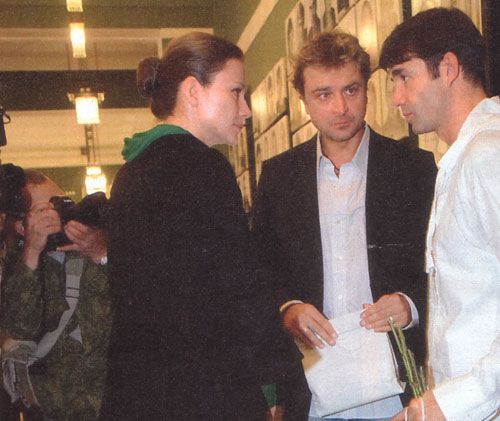 александр лазарев младший и его жена фото