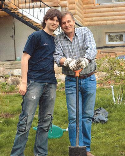 Игорь ливанов с сыном андреем