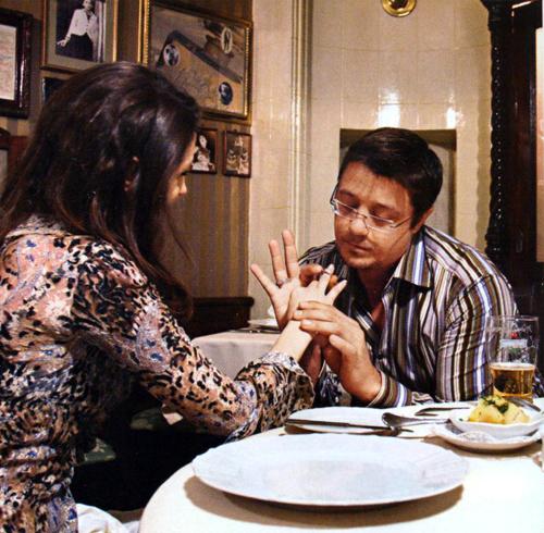 Алексей Макаров и его подруга, актриса Анастасия Макеева