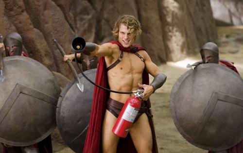 к ф знакомство со спартанцами
